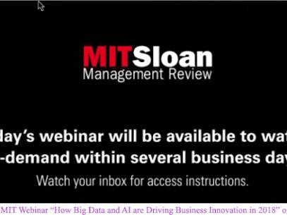 MIT University Webinar – 2018